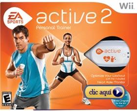Videojuegos para adelgazar: EA Sports Active 2 wii xbox playstation
