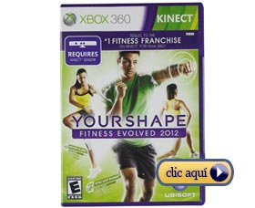 Videojuegos para perder peso: Your Shape (solo Xbox)