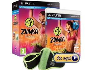 1. Videojuegos para perder peso: Zumba Fitness (todas las consolas)