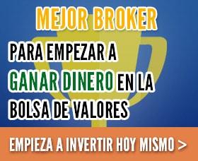 invertir 1000 euros mejor broker bolsa de valores