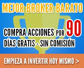 mejor broker barato bolsa de valores