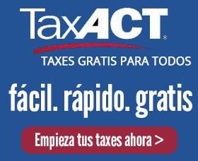 mejor software taxes taxact impuestos gratis