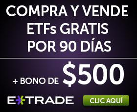 Mejor bróker para comprar ETFs sin comisiones: E * Trade