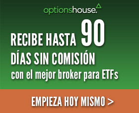 Mejor bróker para comprar ETFs sin comisiones: OptionsHouse