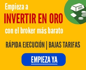 fondos para invertir en oro mejor broker etf