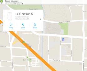 Encontrar un celular perdido: Administrador de dispositivos Android