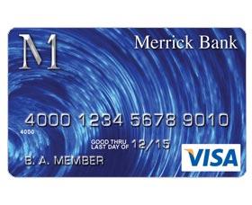 Mejores tarjetas de crédito garantizadas: Merrick Bank Secured Visa