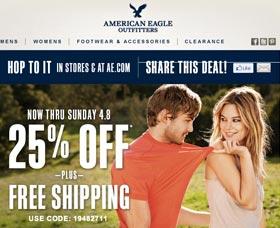 ahorrar dinero comprar en american eagle cupones