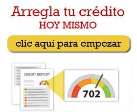 arreglar mal credito tarjeta de crédito