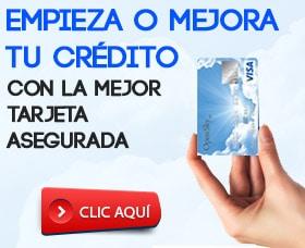 mejor tarjeta de credito asegurada o garantizada