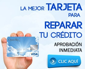 mejor tarjeta para mal crédito