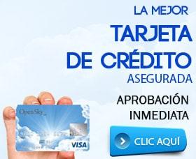 mejores tarjetas de credito asegurada mal credito sin crédito