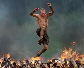 obstaculos de spartan race carrera maraton