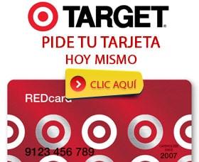 tarjeta de credito target