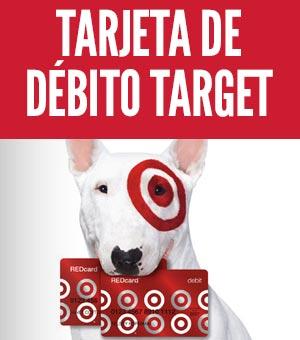 tarjeta de débito target