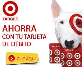 tarjeta target debito ahorrar dinero cupones target