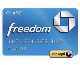 tarjetas de crédito online chase freedom