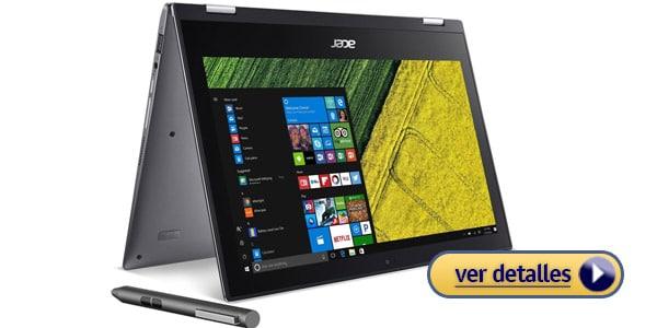 Acer Spin 1 laptop barata con larga bateria