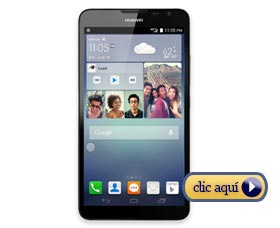 Celulares con mejor batería: Huawei Ascend Mate 2