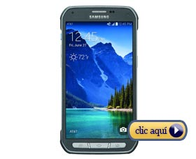 Celulares con mejor batería: Samsung Galaxy S5 Active