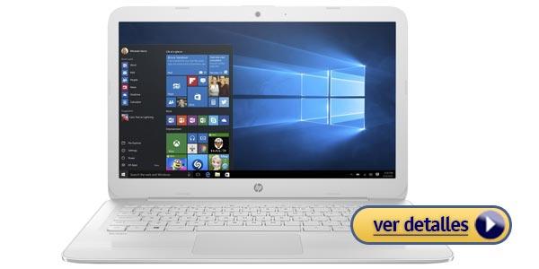 HP Stream 14 mejor laptop economica