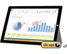 Mejor tablet Windows: Microsoft Surface Pro 3