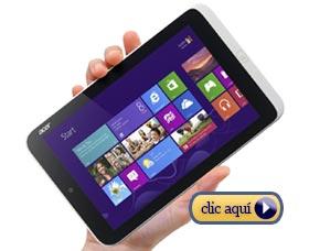Mejor tableta Windows Acer Iconia W3