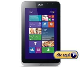 Mejores tabletas para la universidad: ACER Iconia W4-820