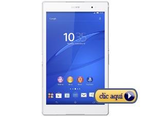 Mejores tabletas para la universidad: Sony Xperia Z3 Tablet