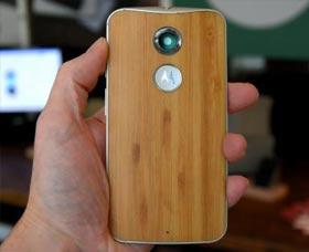 Motorola Moto X (2014): Diseño