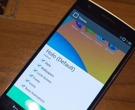 OnePlus One: Interfaz y Pantalla de Bloqueo CyanogenMod