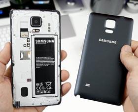 Samsung Galaxy Note 4: Batería