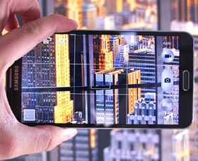 Samsung Galaxy Note 4: Cámara
