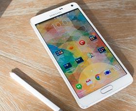 Samsung Galaxy Note 4: Diseño