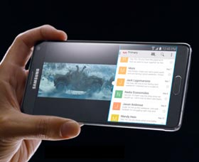 Samsung Galaxy Note 4: Pantalla
