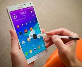 Samsung Galaxy Note 4: S Pen