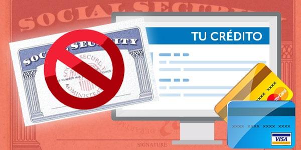 abrir credito sin social security
