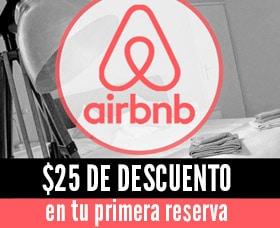 cupón de descuento airbnb
