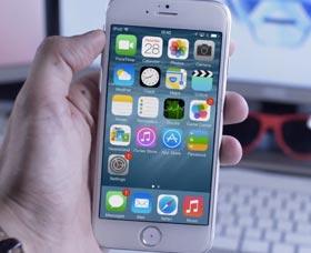 iPhone 6: iOS 8