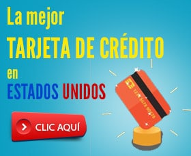 mejor tarjeta de crédito en USA estados unidos