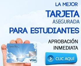 mejores tarjetas de credito para estudiantes tarjeta asegurada abrir crédito
