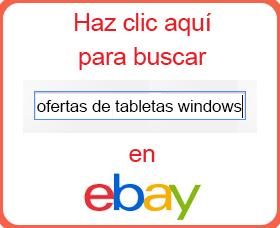 ofertas de tabletas windows ebay