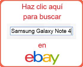 samsung galaxy note 4 barato análisis review ebay