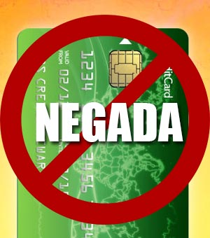 Tarjeta de crédito negada