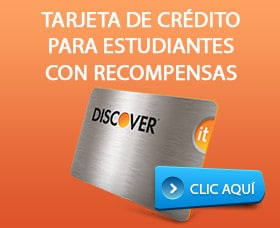 tarjeta de crédito para estudiantes con recompensas discover