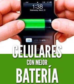 celulares con mejor batería