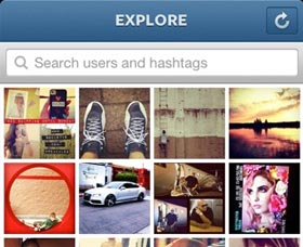 ¿Qué puedo hacer con las fotos en Instagram?