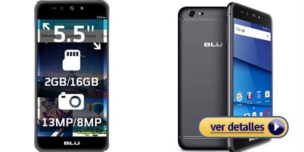 BLU Advance A5 Plus LTE mejores celulares marca BLU
