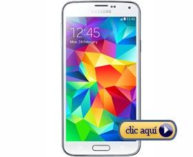 Celulares para regalar a un graduado: Samsung Galaxy S5