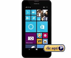 Celulares para una graduación: Nokia Lumia 635